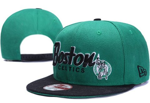 Boston Celtics NBA Snapback Hat XDF022
